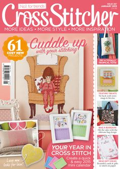 January 2015 issue (287) of CrossStitcher magazine