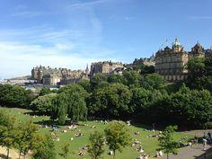 Edinburgh, Scotland. July 2013