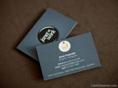 30+ Cool But Still Free Business Cards | Inspiration