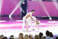 Witney and Chehon perform a Contemporary routine by Stacey Tookey