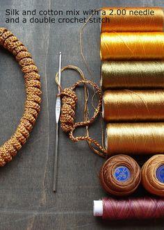 Curlicue crochet....<3 this. ༺✿ƬⱤღ✿༻