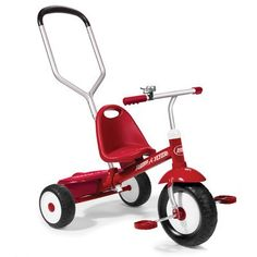 Kids' Tricycles - Radio Flyer Radio Flyer Deluxe Steer and Stroll Trike -- Click on the image for additional details.