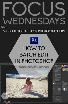 How To Batch Edit In Photoshop | Free Video Tutorial | Floating Lights Photography | #editingtips, #photography101, #batchediting, #photoshop