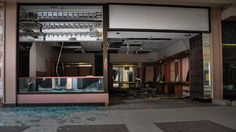 There will be no crowds at these abandoned malls this post-Thanksgiving shopping day.