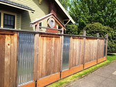 Sheet Metal Fences