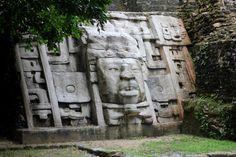mayan ruins at lamanai - belize