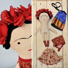 Frida / autorská hračka