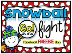 Snowball Fight!!! 22 Amazing Bloggers are providing Freebies through January 20th!