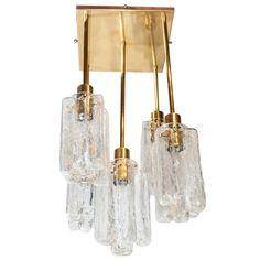 pair of granada ice glass pendant chandeliers chandeliers and pendant lighting