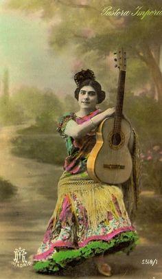 Pastora Imperio, Flamenco dancer