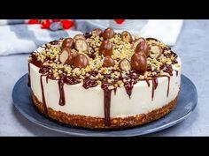 KINDER torta, amely elfeledteti veled a sütőt. HIHETETLENÜL ízletes és mutatós! - YouTube Torte Recipe, Nigella, Four, Let Them Eat Cake, Cheesecakes, No Bake Cake, Panna Cotta, Cake Recipes, How To Look Better