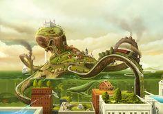 Illustration - Heri Irawan - Concept Artist, Art Director and Illustrator from Vienna, Austria