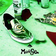 mouse emerica | Emerica x Mouse Provost Cruiser Slip UK Exclusive Skate Shoe - neon ...