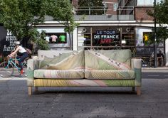 Sofa by Laurie King and Openhouse Creative