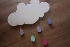 Déco murale Nuage Little Cloud par LittleCloudCompany sur Etsy, €49.00