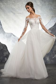 bdc2e3f51d3f Kelsey/ 5602 Ball Gown Wedding Dress by Morilee by Madeline Gardner -  WeddingWire.com