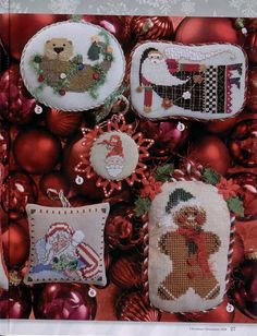 Gallery.ru / Фото #21 - 10 - mikolamazur; free Christmas ornament patterns