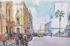 "El Valparaíso de Lukas por Renzo Pecchenino ""Lukas""."