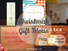 some great christmas gift ideas (plus a giveaway)