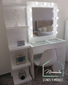 You can start at the pace you want and receive support during the course of the process, finally you will enjoy greater flexibility and economic freedom. Bedroom Closet Design, Bedroom Furniture Design, Girl Bedroom Designs, Bedroom Decor For Teen Girls, Teen Room Decor, Room Ideas Bedroom, Bedroom Decorating Tips, Vanity Room, Makeup Room Decor