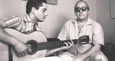 """Discos. Com o violinista Baden Powell, Vinicius de Moraes lançou em 1966 """"Os afro-sambas"""", um marco da MPB"""