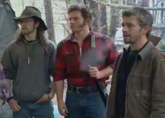 Alaskan bush people - Joshua Bam Bam, Matt, and Gabe Brown