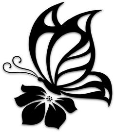 Details about Butterfly Cute Sexy Girly Car Truck Window Vinyl Decal Sticker 10 COLORS - Kathya Coutto Butterfly On Flower, Butterfly Stencil, Stencil Patterns, Stencil Art, Bird Stencil, Stenciling, Tattoo Foto, Girly Car, Kirigami