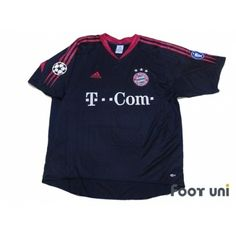 d27591f24ac Bayern Munich 2004-2005 Cup Shirt Champions League Trophy Patch Badge  Champions League Patch Badge