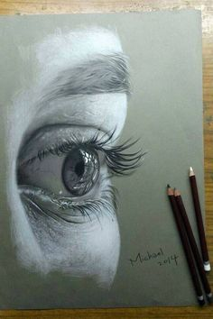 Draw Eyes Realistic Drawing Pencil Portraits - Pencil Portrait Mastery Eye drawing: Discover The Secrets Of Drawing Realistic Pencil Portraits Discover The Secrets Of Drawing Realistic Pencil Portraits Eye Pencil Drawing, Realistic Pencil Drawings, Drawing Eyes, Pencil Art, Painting & Drawing, Art Drawings, Drawing Portraits, Charcoal Drawings, Contour Drawings