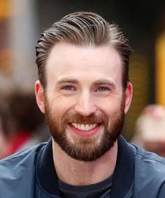 People on Twitter have some STRONG feelings about Chris Evans' beard