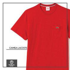 Camisa Lacoste, todo mundo tem que ter no armário.  #RadicalChic #ModaMasculina #TodaHoraÉ #Lacoste