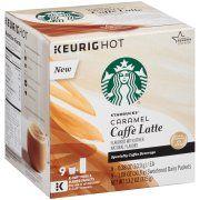 Starbucks® Caramel Caffè Latte Specialty Coffee Beverage K-Cups® 13.2 oz. Box