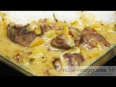 Czech Recipes, Cheeseburger Chowder, Good Food, Food And Drink, Menu, Soup, Make It Yourself, Youtube, Diet