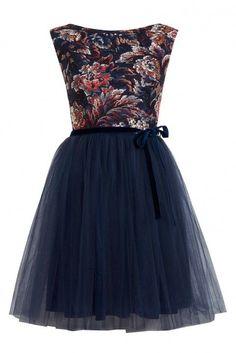 Miss Selfridge Floral Print Mesh Tutu Dress, £45 - Winter Wedding Guest Dresses - Wedding Guest Dresses - Wedding Guest Outfits:
