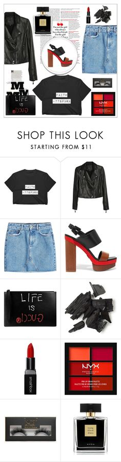 """Girls just want to have fun"" by mayabee88 ❤ liked on Polyvore featuring Paige Denim, Anine Bing, Michael Kors, Maison Margiela, Gucci, Smashbox, NYX, Boohoo and Avon"