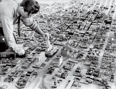 BW photo - Retro City Planning