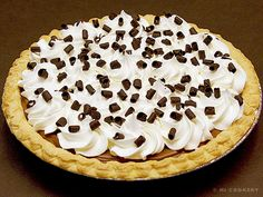 French Silk Pie Recipe    (Adapted from Cook's Country)