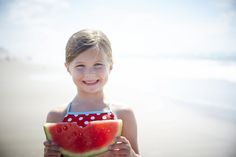 Watermelon. Sand. Ocean Breeze. Summertime Perfection!