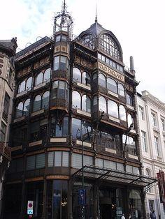 Great example of Art Nouveau, Brugge, Belgium