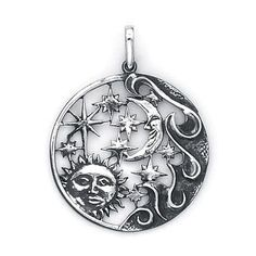 Hey, I found this really awesome Etsy listing at https://www.etsy.com/listing/98202197/sun-moon-stars-charm-sterling-silver-506