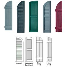 Toronto Window Shutters, Interior Shutters, Exterior Shutters, Polywood, Vinyl, Wood, Aluminum, Shutters in Toronto