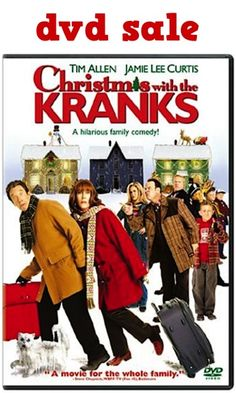 Christmas with the Kranks DVD Sale: $3.99! #movies #thefrugalgirls