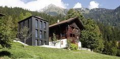 Haus Bergfrieden Saas im Prättigau, Switzerland by Max Dudler Architekt