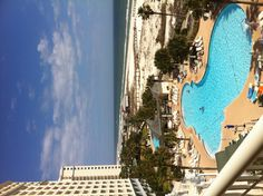 Lounging by the pool at the Beach Club, Gulf Shores
