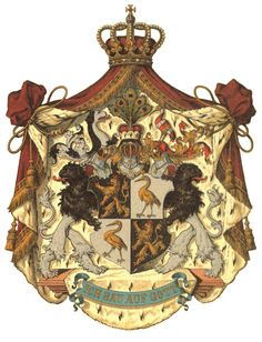 Coat of Amrs Fürstentum Reuß jüngere Linie Wappen Asian History, British History, Historical Women, Historical Photos, Family Crest Symbols, Royal Family Trees, Cosmic Art, Holy Roman Empire, Strange History