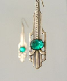 art deco earrings More