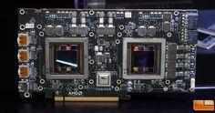 AMD Radeon R9 Fury X2 Dual Fiji GPU Graphics Card