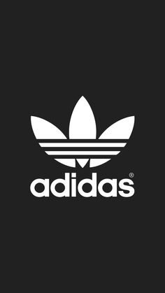 adidas Logo iPhone Wallpaper                                                                                                                                                                                 More