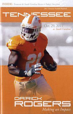 UT vs. South Carolina (October 29, 2011) Ut Football, College Football, Football Helmets, October 29, Tennessee Volunteers, South Carolina, Over The Years, Orange, Big