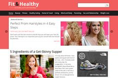 Check out Fit&Healthy Fitness & Health Theme by Magazine3 on Creative Market